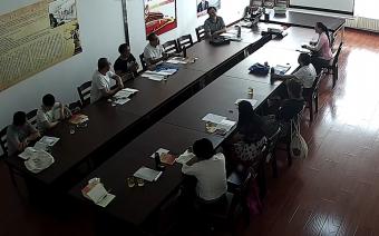 诸城市尼山书院成人高级研修班(启道班)第35期开课了